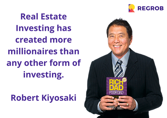 Real estate franchisee in india quote by robert kiyosaki