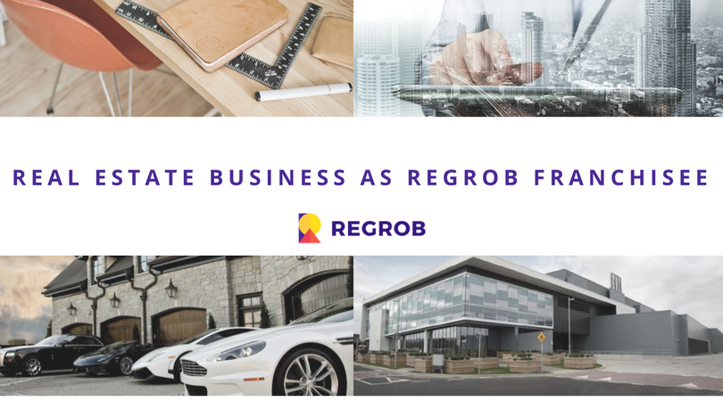 Real estate brokerage business as regrob real estate franchisee in india