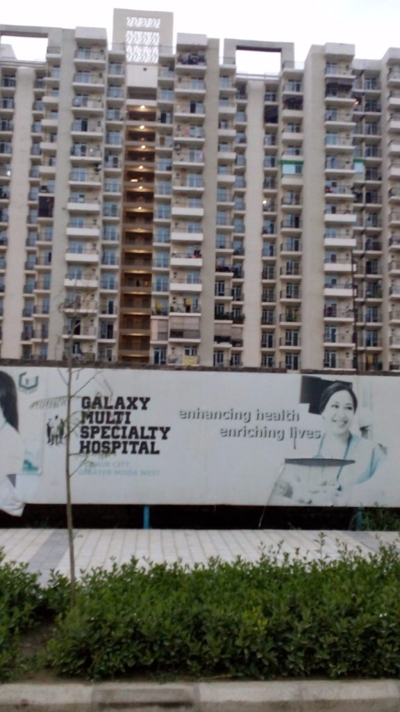 Galaxy hospital in noida extension - 2 bhk for rent in noida extension