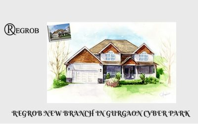 regrob real estate brokerage company opens a new branch at cyber park and cyber city at gurgaon