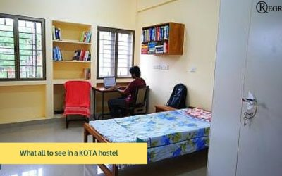 things to check in a student hostel in kota