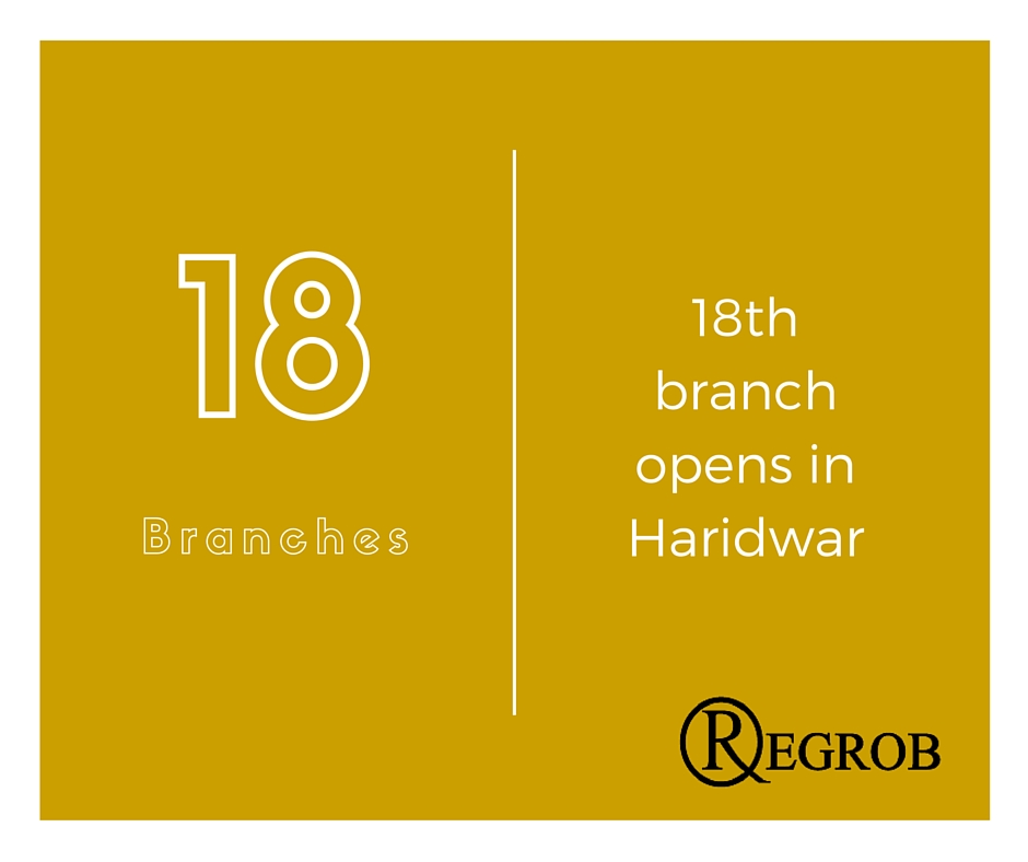 REGROB opens its 18th branch in City of Temples - Haridwar