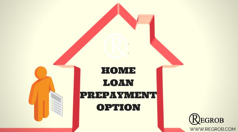 Home loan prepayment option