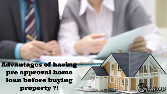 advantage of pre approval home loan