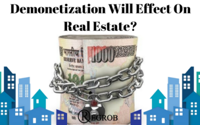 Demonetization will effect on real estate1