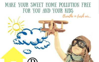 Make your sweet home pollution free