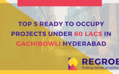 TOP 5 READY TO OCCUPY PROJECTS UNDER 60 LACS IN GACHIBOWLI HYDERABAD