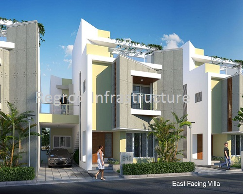 Casa Grande Neona East Facing Villa 3 BHK