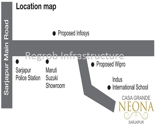 Casa Grande Neona Location Map
