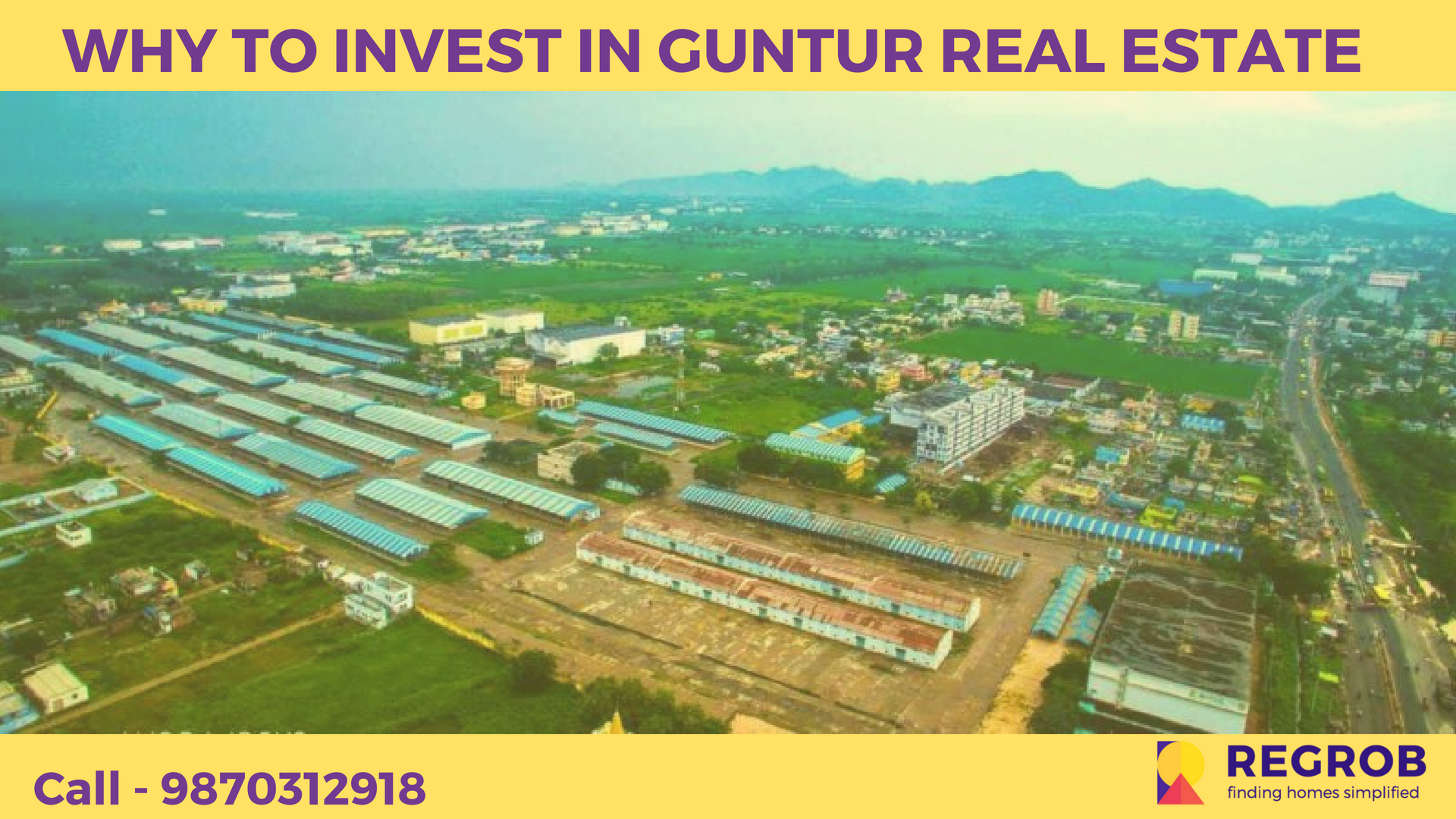 WHY TO INVEST IN GUNTUR REAL ESTATE