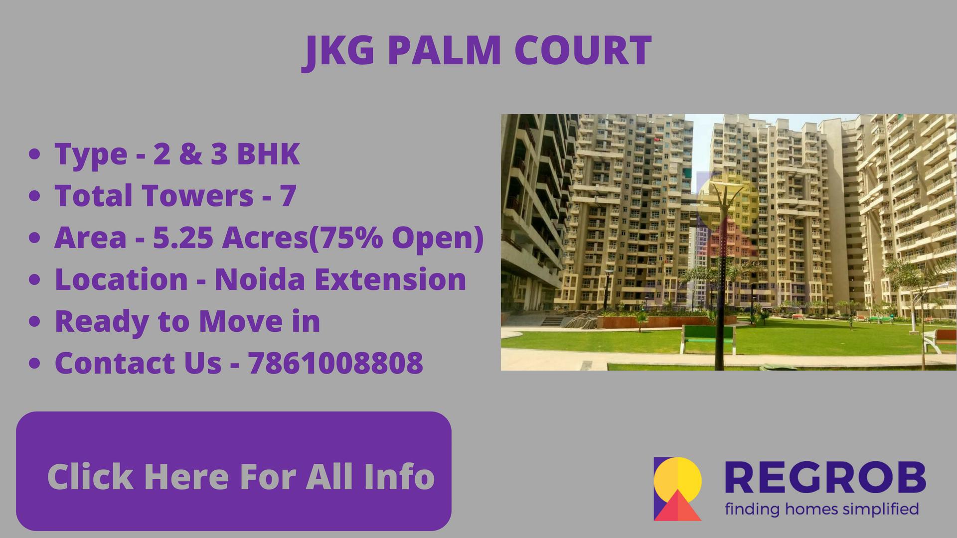 JKG Palm Court gaur city 2