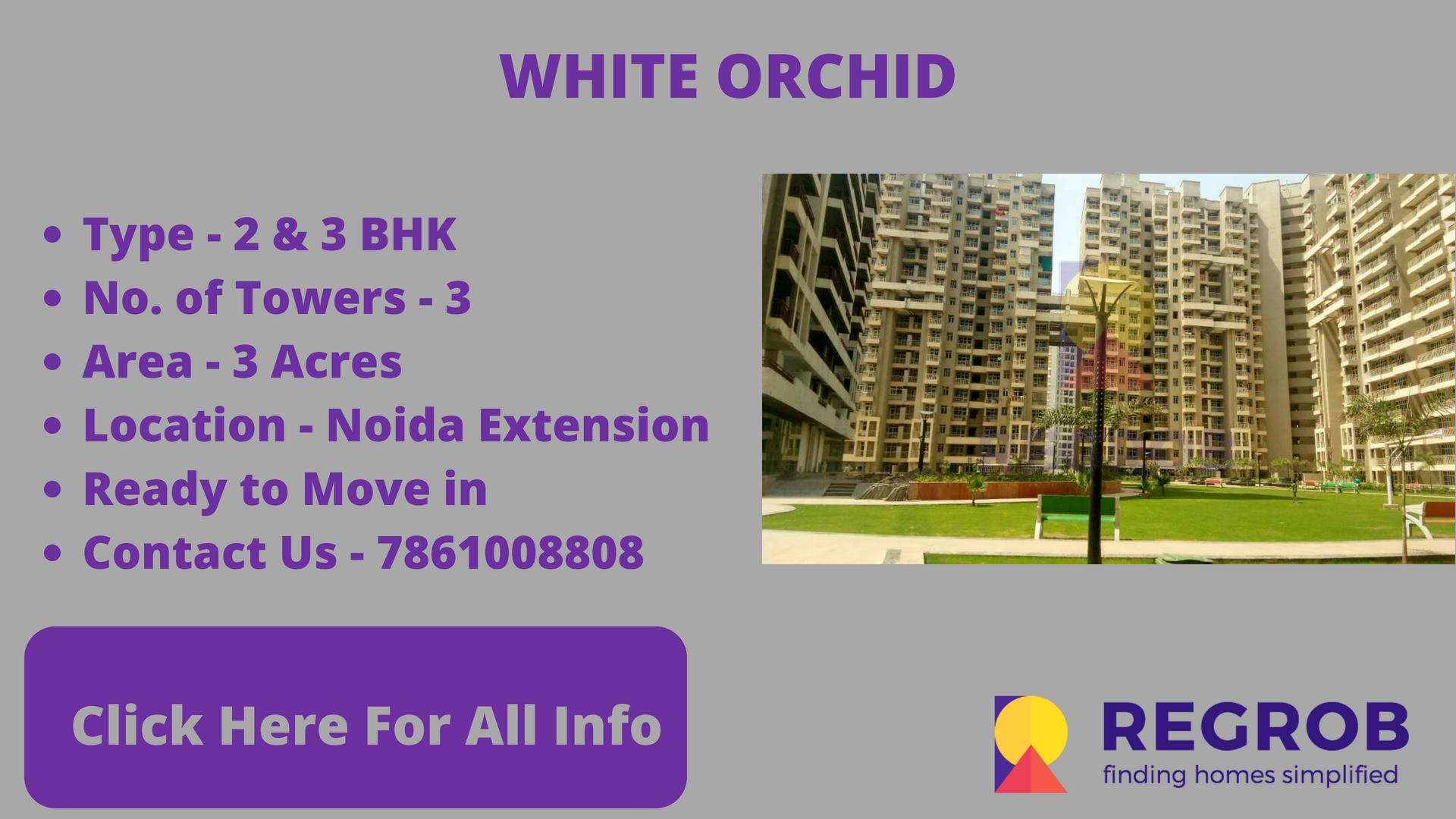 White Orchid gaur city 2