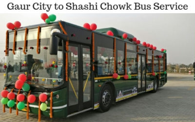 Gaur City to shashi chowk bus service