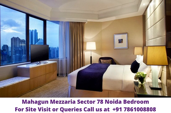Mahagun Mezzaria Sector 78 Noida Bedroom