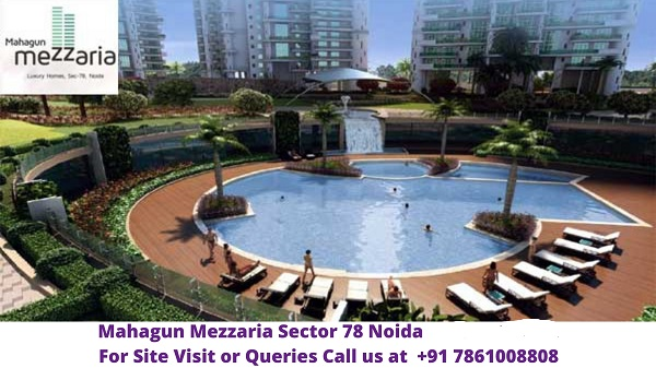 Mahagun Mezzaria Sector 78 Noida Pool