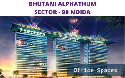 Bhutani Alphathum Sector 90 Noida
