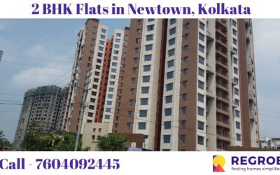 2 BHK Flats in Newtown Kolkata