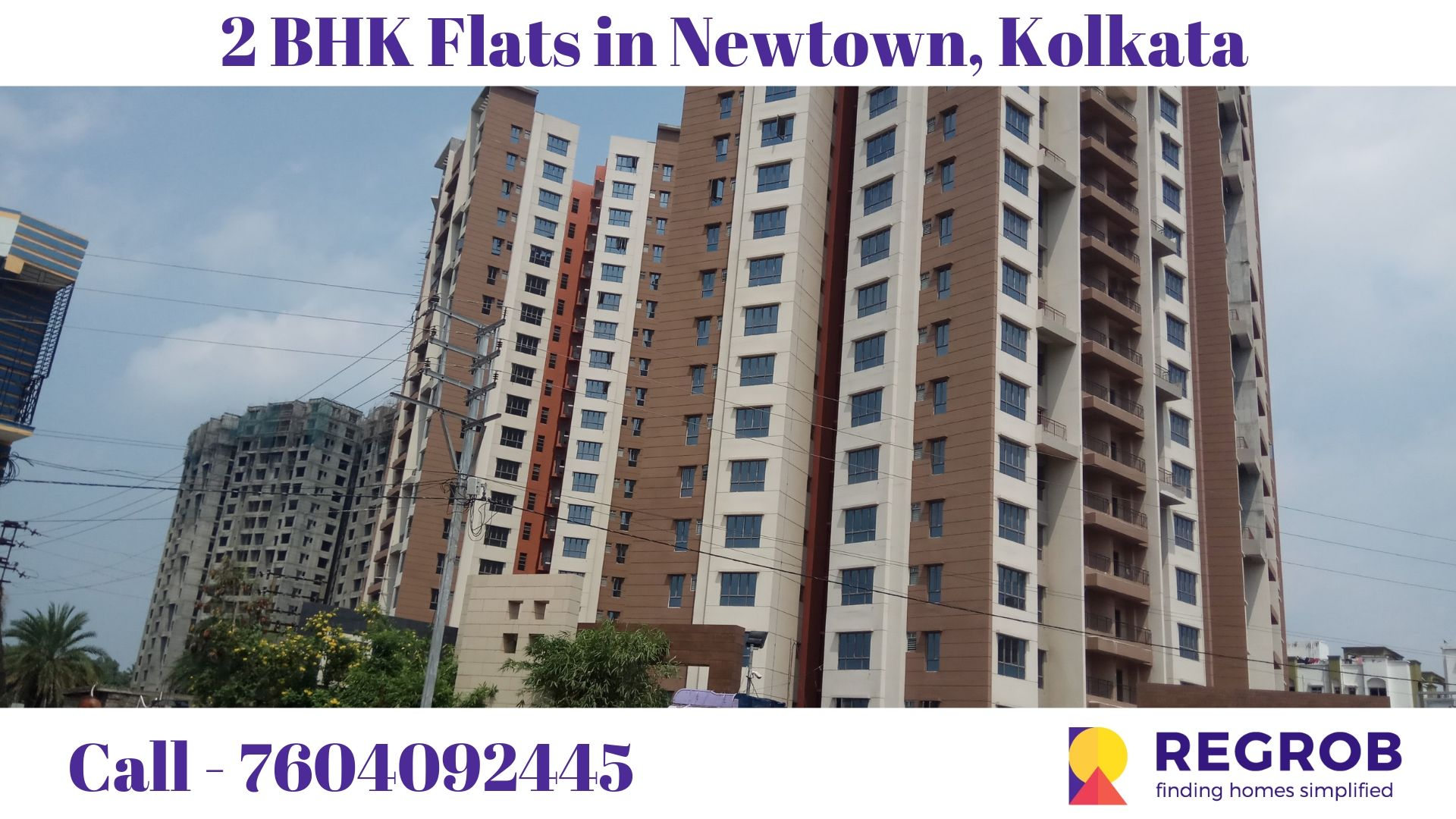 2 BHK Flats in Newtown Kolkata