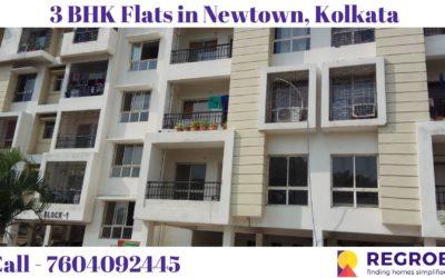 3 BHK Flats For Sale in Newtown Kolkata