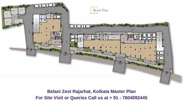 Belani Zest Rajarhat, Kolkata Master Plan