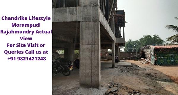 Chandrika Lifestyle Morampudi Rajahmundry Under Construction
