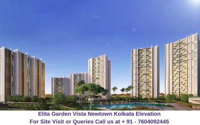 Elita Garden Vista Newtown Kolkata Elevation