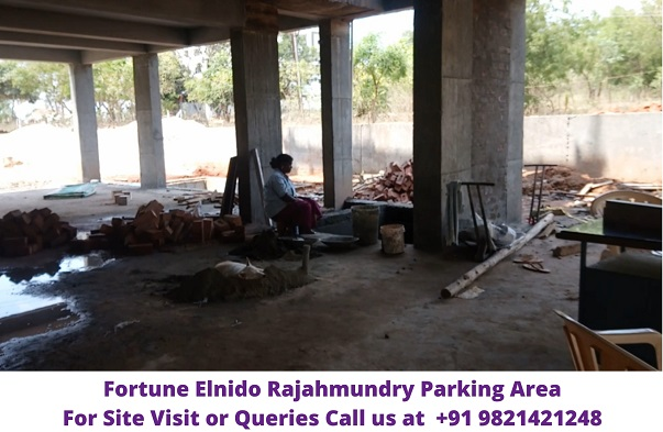 Fortune Elnido Rajahmundry Parking Area