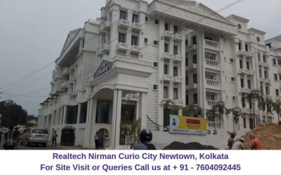 Realtech Nirman Curio City Newtown, Kolkata Building View