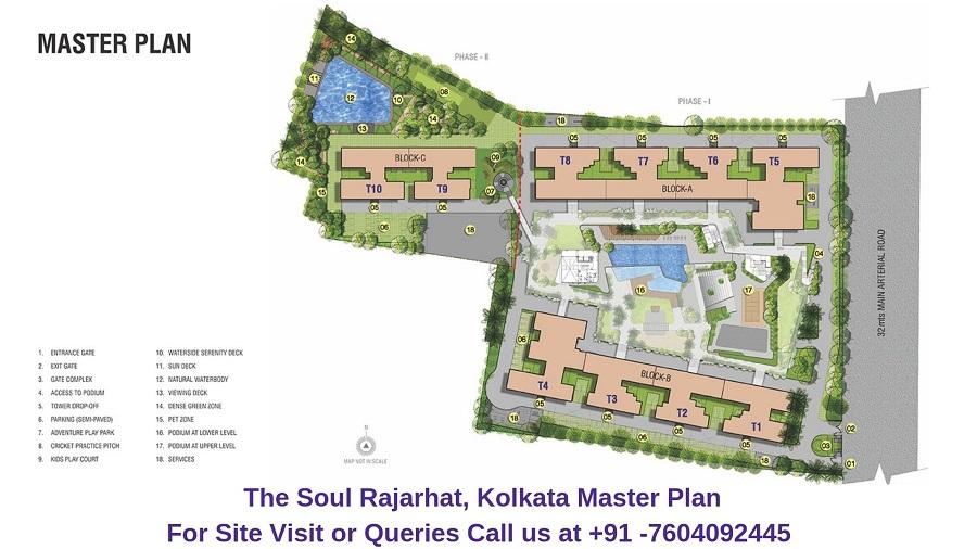 The Soul Rajarhat Kolkata Master Plan