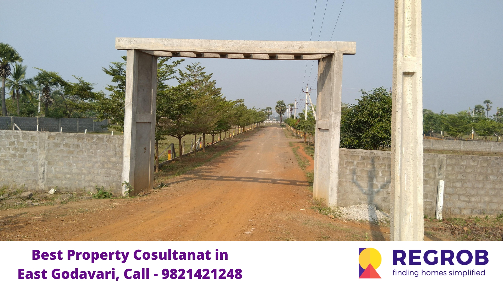 plots for sale in Rajahmundry east godavari