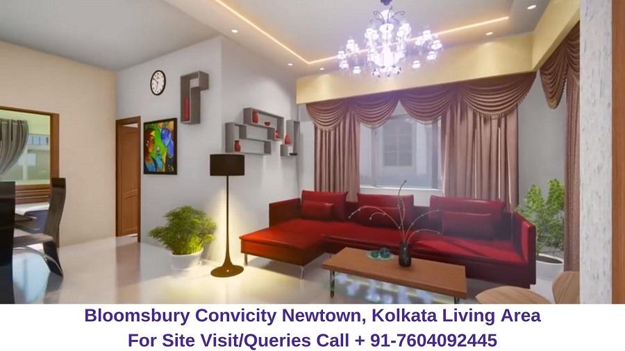 Bloomsbury Convicity Newtown, Kolkata Living Area