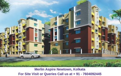 Merlin Aspire Newtown Kolkata Elevation