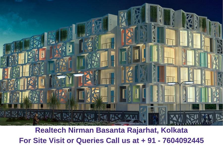 Realtech Nirman Basanta Rajarhat, Kolkata Elevation