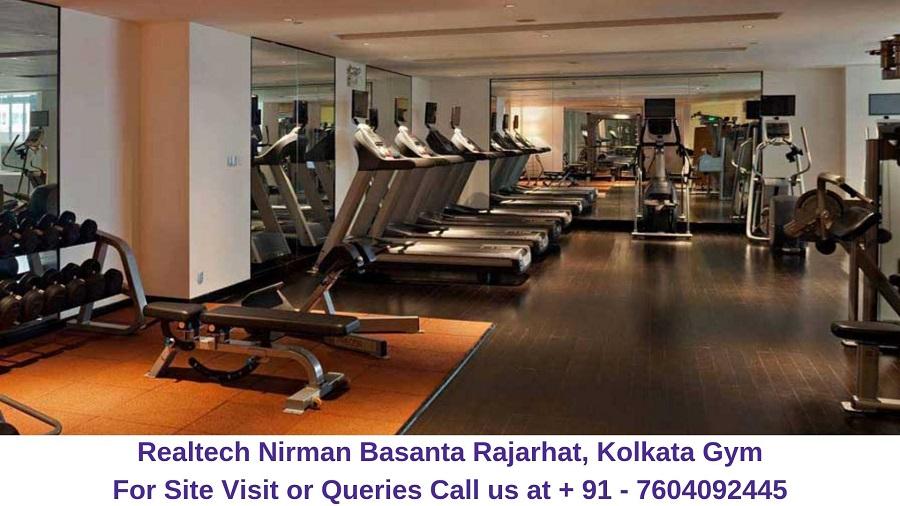 Realtech Nirman Basanta Rajarhat, Kolkata Gym