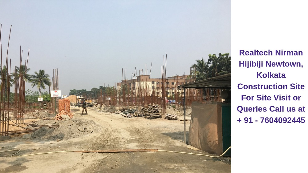 Realtech Nirman Hijibiji Newtown, Kolkata Construction Site