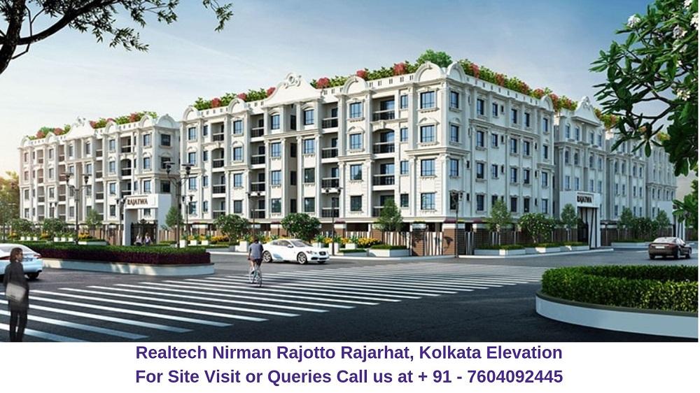 Realtech Nirman Rajotto Rajarhat, Kolkata Elevation