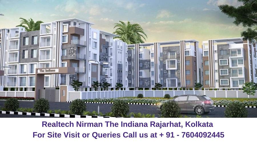 Realtech Nirman The Indiana Rajarhat, Kolkata Elevation
