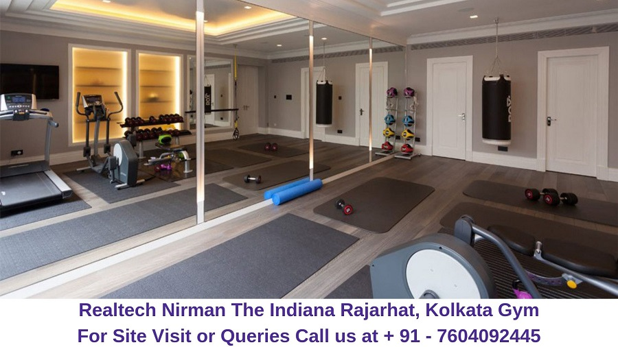 Realtech Nirman The Indiana Rajarhat, Kolkata Gym