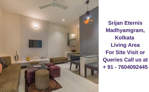 Srijan Eternis Madhyamgram, Kolkata Living Area