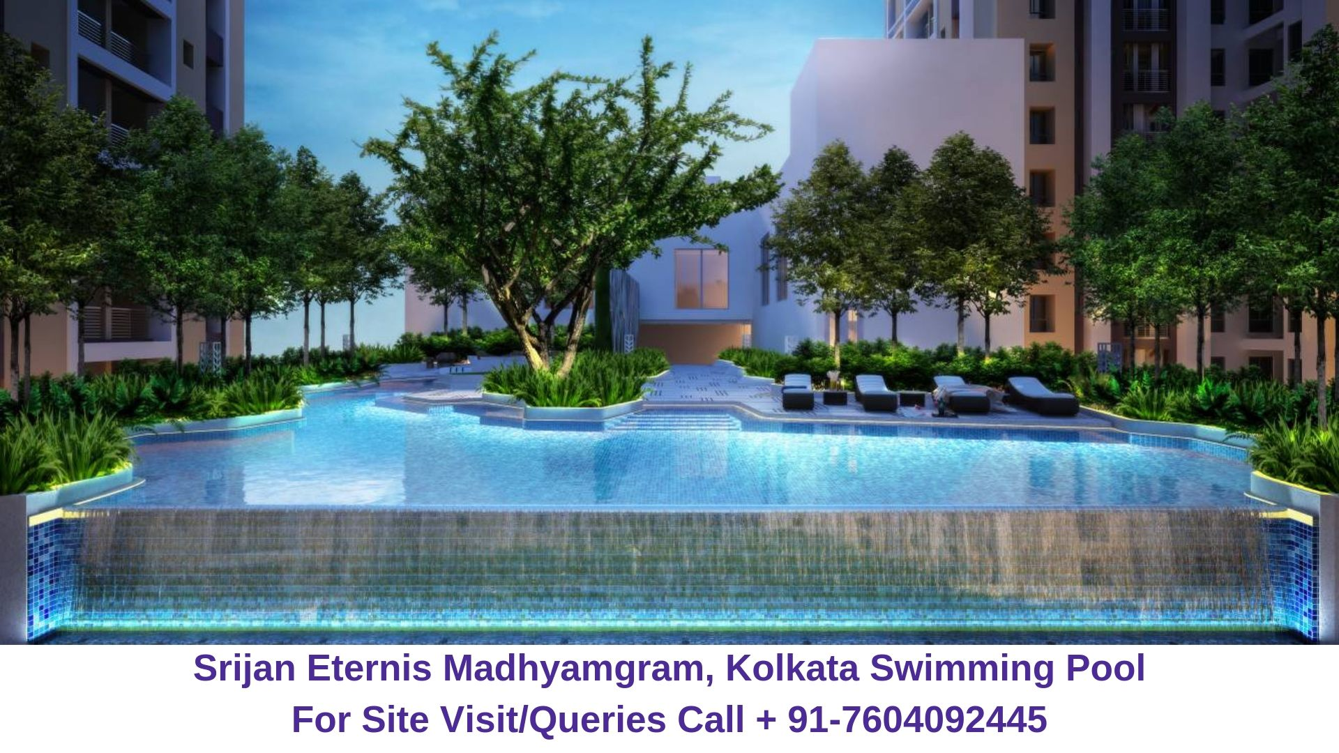 Srijan Eternis Madhyamgram, Kolkata Swimming Pool