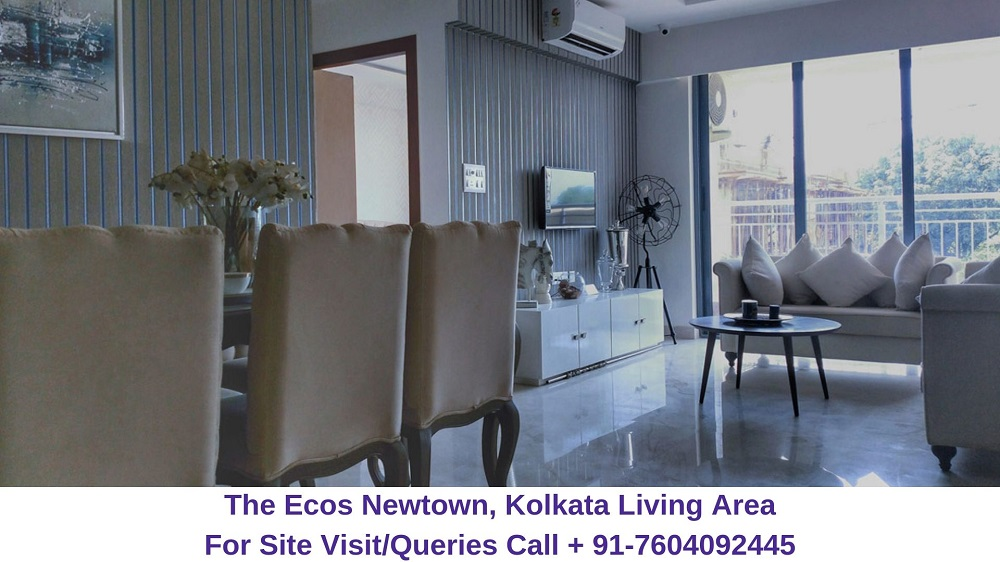 The Ecos Newtown, Kolkata Living Area