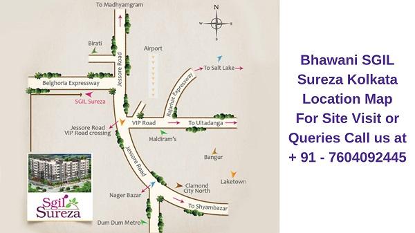 Bhawani SGIL Sureza Kolkata Location Map