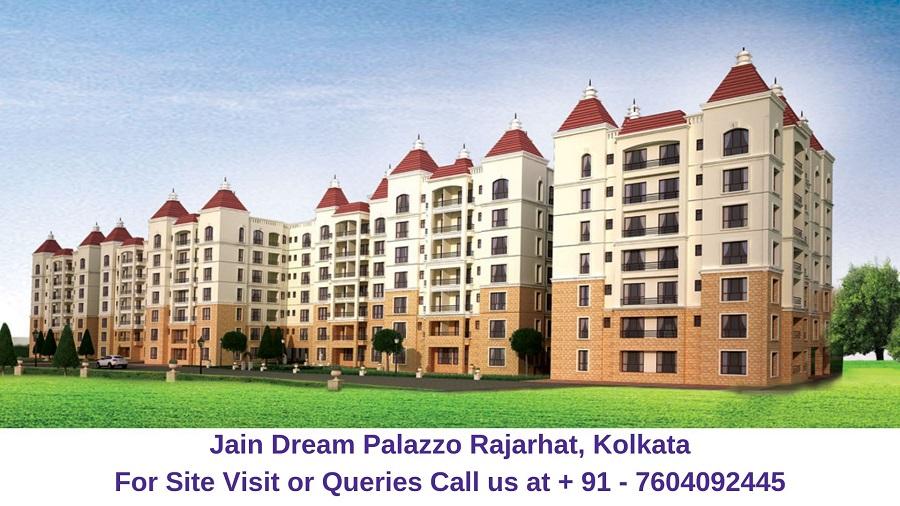 Jain Dream Palazzo Rajarhat, Kolkata Elevation (1)