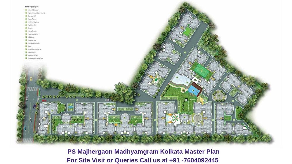 PS Majhergaon Madhyamgram Kolkata Master Plan