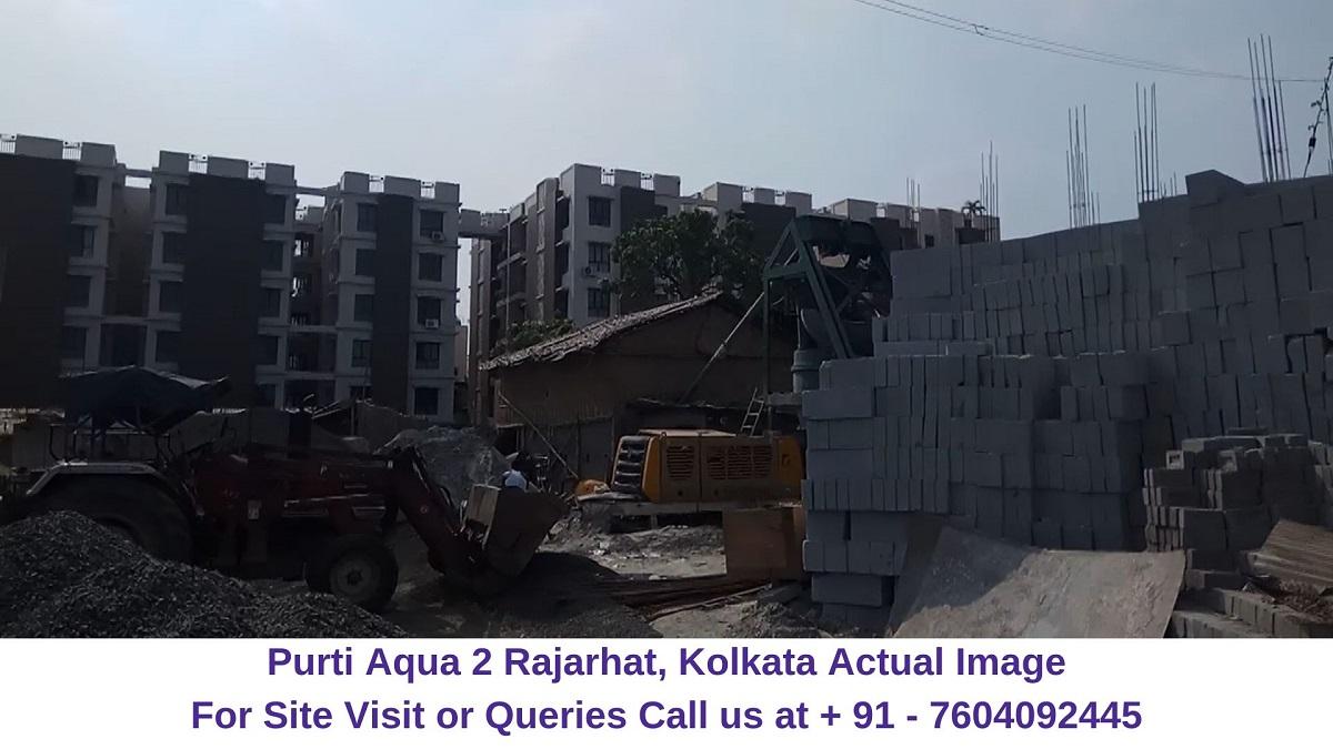 Purti Aqua 2 Rajarhat, Kolkata Actual Image
