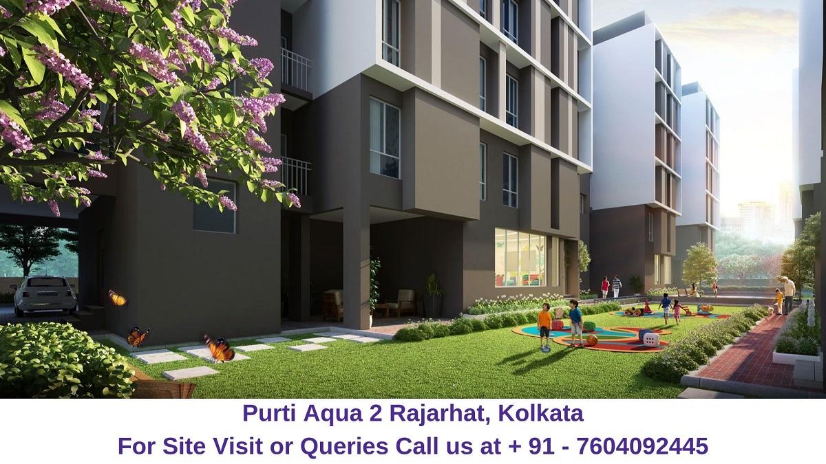 Purti Aqua 2 Rajarhat, Kolkata Garden