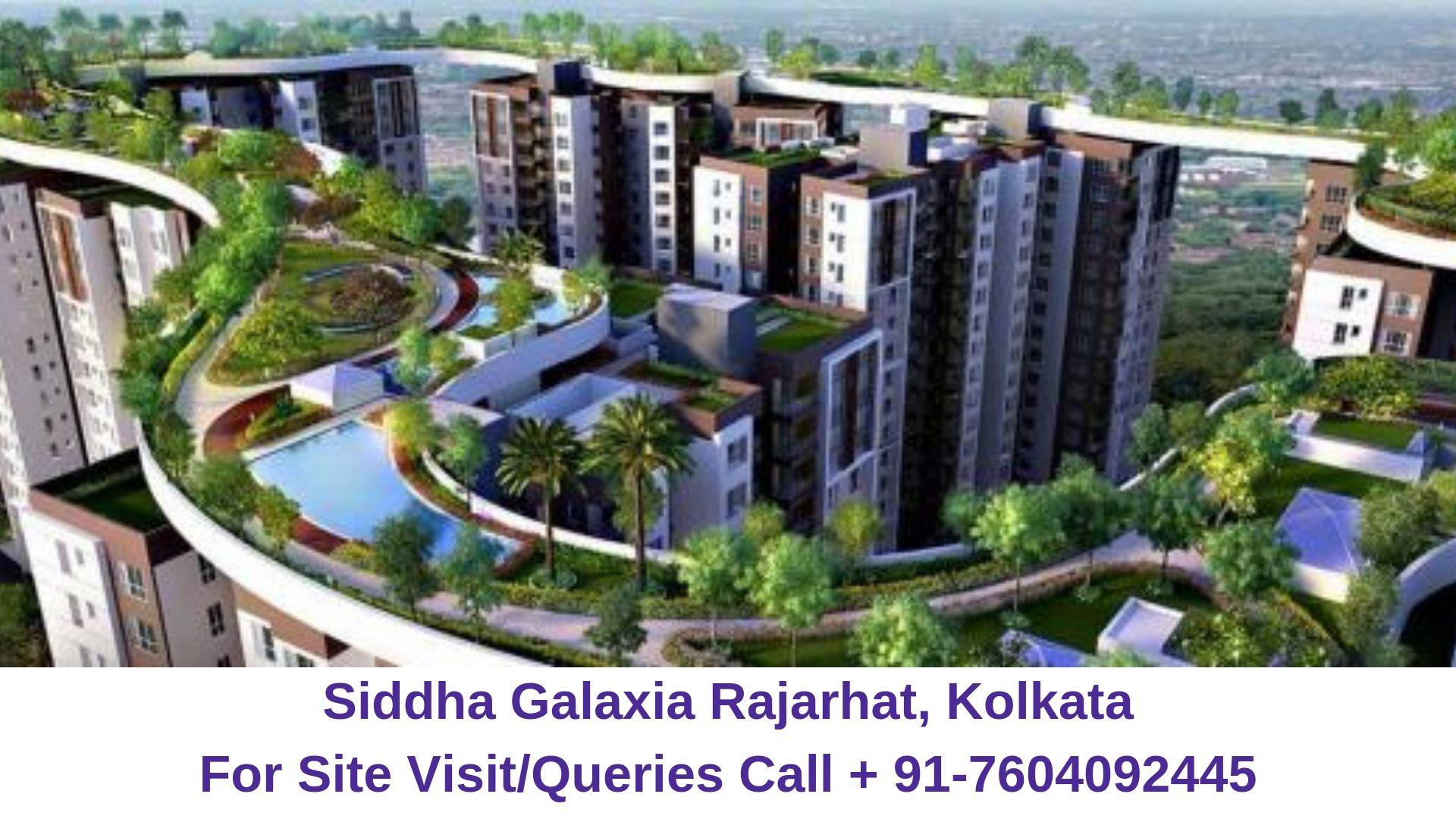 Siddha Galaxia Rajarhat, Kolkata Amenities