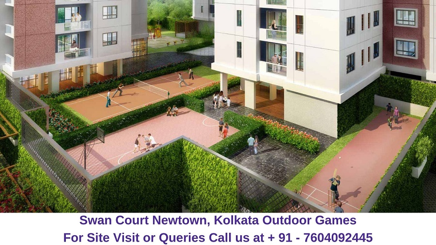 Swan Court Newtown, Kolkata Outdoor Games