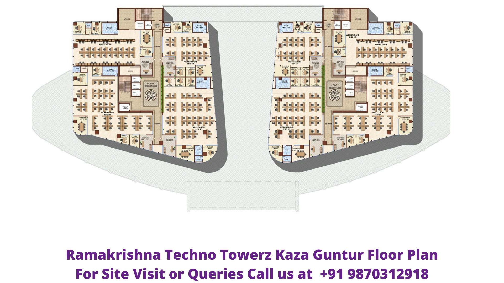 Ramakrishna Techno Towerz Kaza Guntur