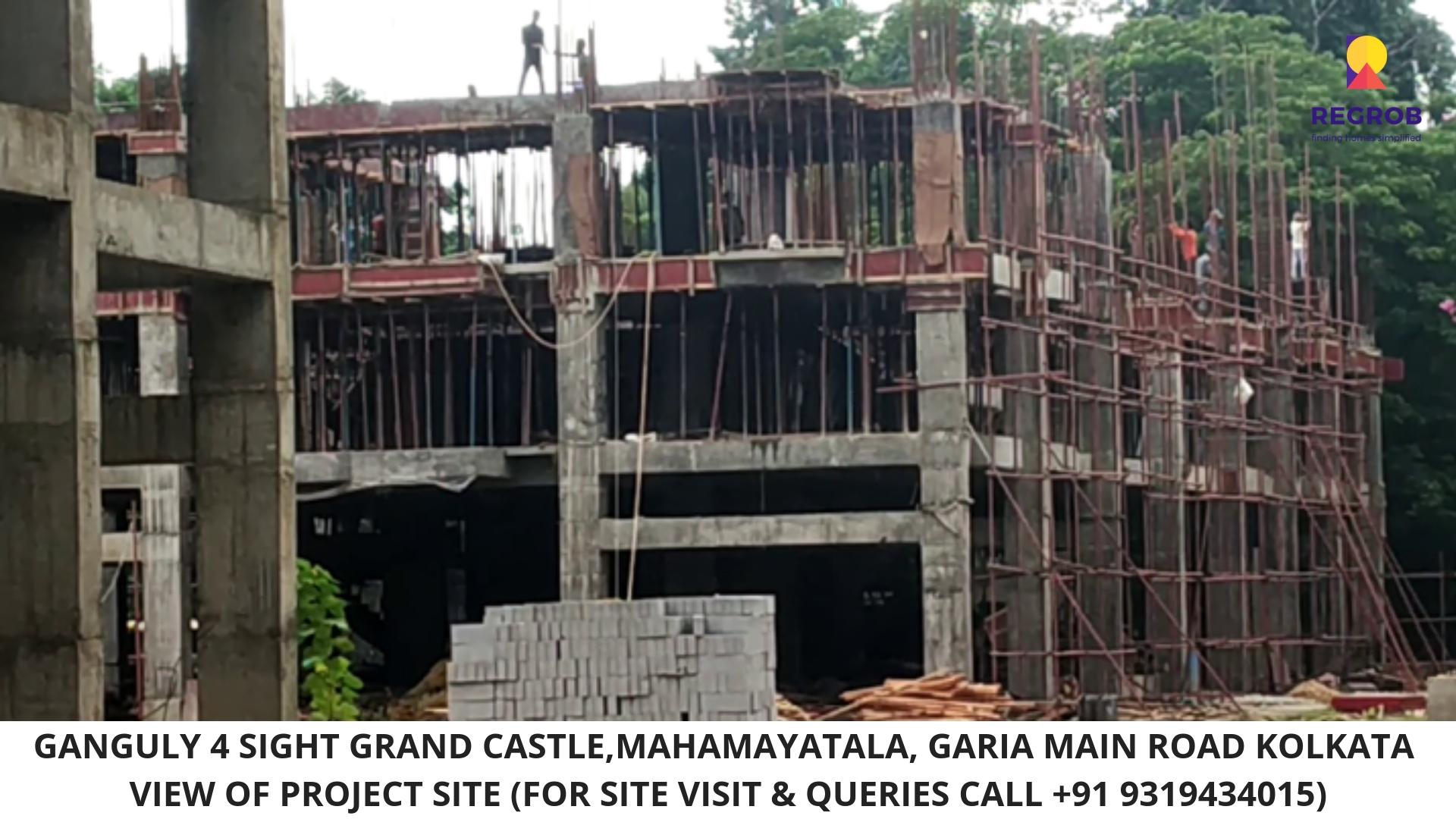 Ganguly 4 Sight Grand Castle Mahamayatala Garia Kolkata